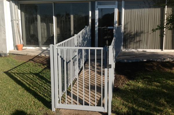Outdoor Aluminum Gate in Corpus Christi, TX