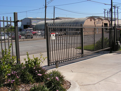 Access control fence