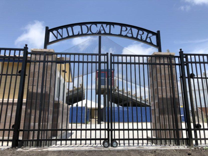 Outdoor Custom Aluminum Gate in Corpus Christi, Texas