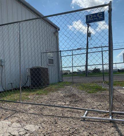 Temporary Fencing in Corpus Christi, TX